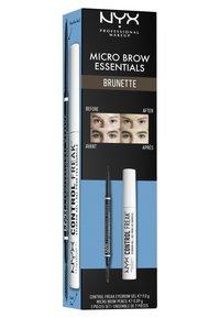 Nyx Professional Makeup - MICRO BROW ESSENTIALS – MIRCRO BROW PENCIL - Makeup set - brunette - 5