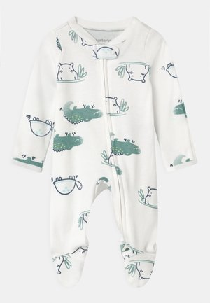 TURTLE - Sleep suit - white/green