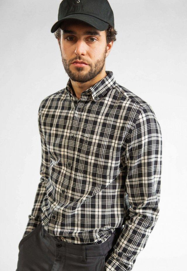 ROBBINS  - Overhemd - mottled black