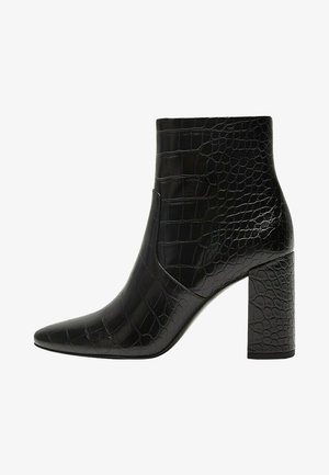 CALEO - Classic ankle boots - schwarz