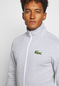 Lacoste Sport - TRACKSUIT - Survêtement - silver chine/green/white - 5
