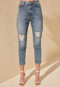 Trendyol - Slim fit jeans - blue - 1