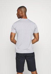 Salewa - ALTA VIA DRY TEE - Print T-shirt - heather grey - 2
