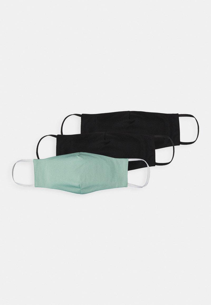 Even&Odd - 3 PACK - Community mask - black /light green
