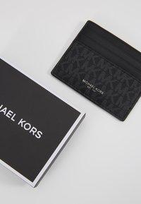 Michael Kors - TALL CARD CASE UNISEX - Plånbok - black - 2