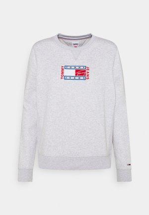 TIMELESS FLAG - Sweatshirt - silver grey