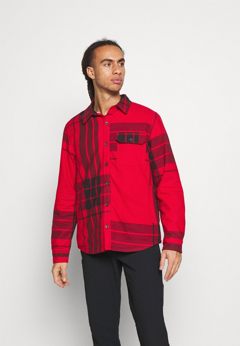 The North Face - CAMPSHIRE - Fleecová bunda - red