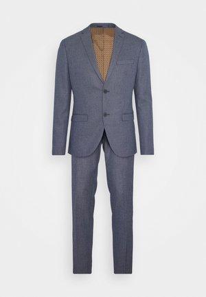 TEXTURE SUIT - Suit - blue