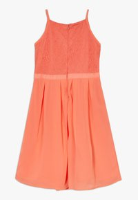 Lemon Beret - FESTIVE DRESS  - Cocktail dress / Party dress - living coral - 1