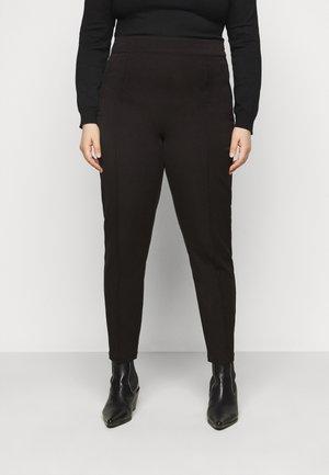 VMIVY ANKLE SLIM PANT - Kalhoty - black