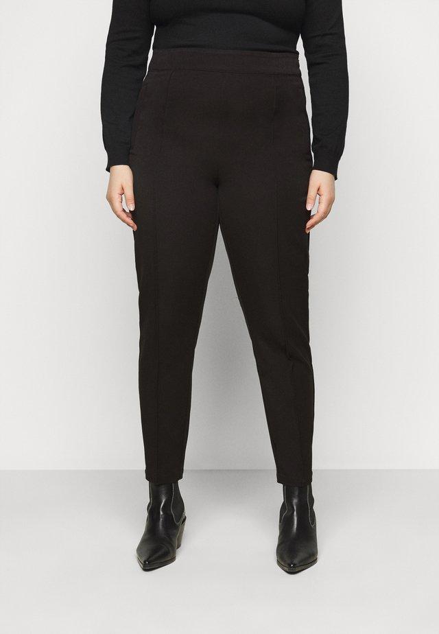 VMIVY ANKLE SLIM PANT - Pantaloni - black