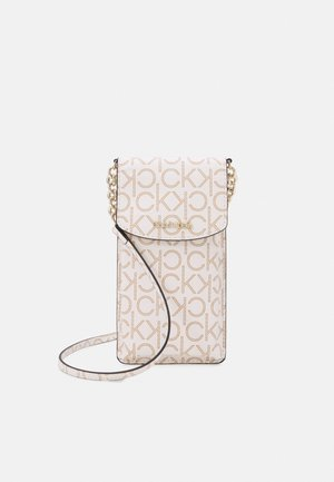PHONE POUCH XBODY MONOGRAM - Across body bag - white