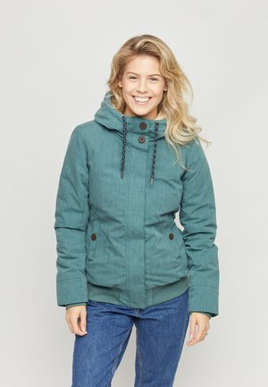 CHELSEY - Winter jacket - forest mel.