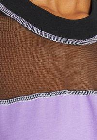 The Ragged Priest - SKATER DRESS - Jersey dress - black/purple - 5