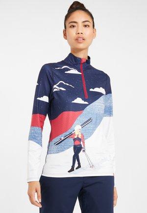 Koszulka sportowa - indigo