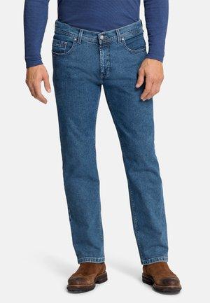 RANDO - Slim fit jeans - dark blue stonewash