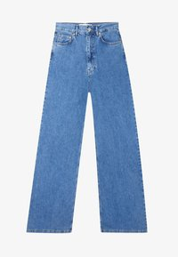 Stradivarius - Flared jeans - blue - 4