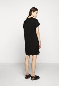 KARL LAGERFELD - ADDRESS DRESS - Vestido ligero - black - 2