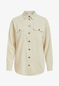 Vila - Button-down blouse - birch - 4