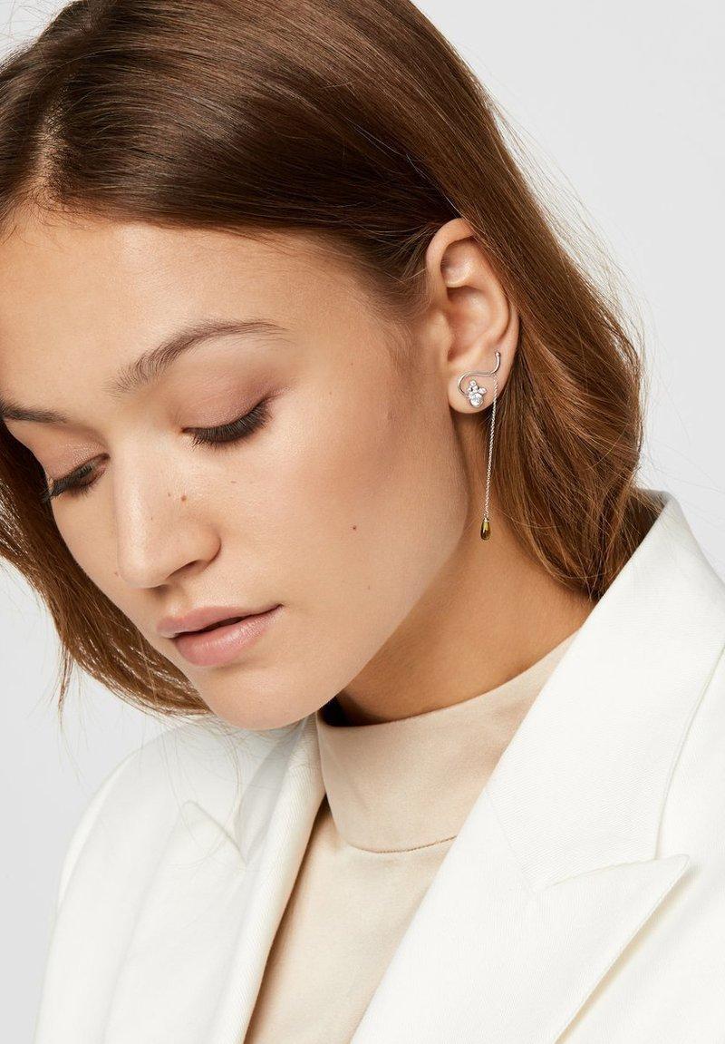 ID Fine - PACIFIC DROP SINGLE - Earrings - rhodium