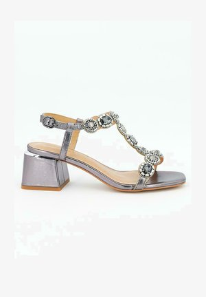 BELLA - Sandalias - silver