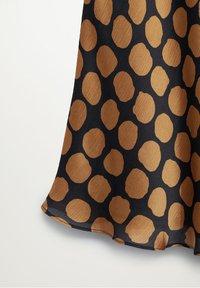 Mango - SABI - A-line skirt - karamell - 7