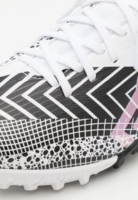 Nike Performance - MERCURIAL JR 7 ACADEMY TF UNISEX - Fußballschuh Multinocken - white/black - 5
