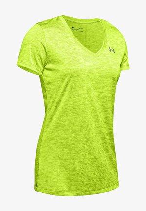 TECH TWIST - Basic T-shirt - green citrine