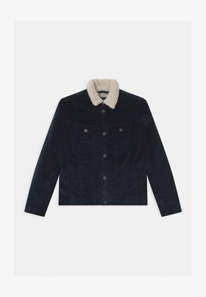 JJIALVIN JJSHERPA  - Winter jacket - navy blazer