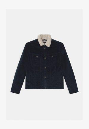 JJIALVIN JJSHERPA  - Zimní bunda - navy blazer