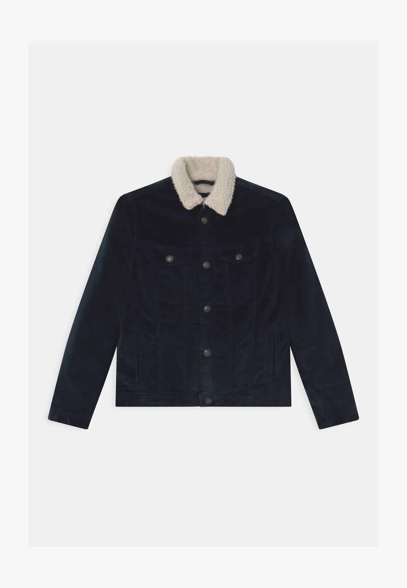 Jack & Jones Junior - JJIALVIN JJSHERPA  - Winter jacket - navy blazer