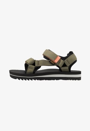 UNIVERSAL TRAIL WOMENS - Walking sandals - burnt olive