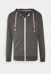 JORCLAYTON ZIP HOOD - Zip-up hoodie - dark grey melange