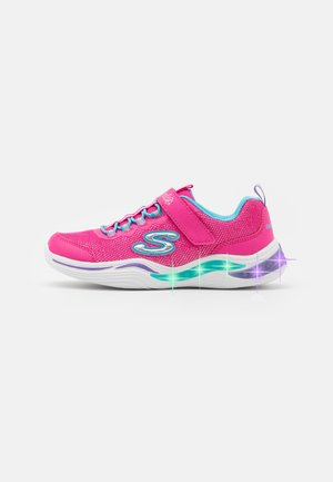 POWER PETALS - Sneakers laag - neon pink/multicolour
