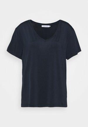 SIFF V NECK - Print T-shirt - dark sapphire