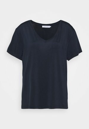 SIFF V NECK - T-shirt z nadrukiem - dark sapphire