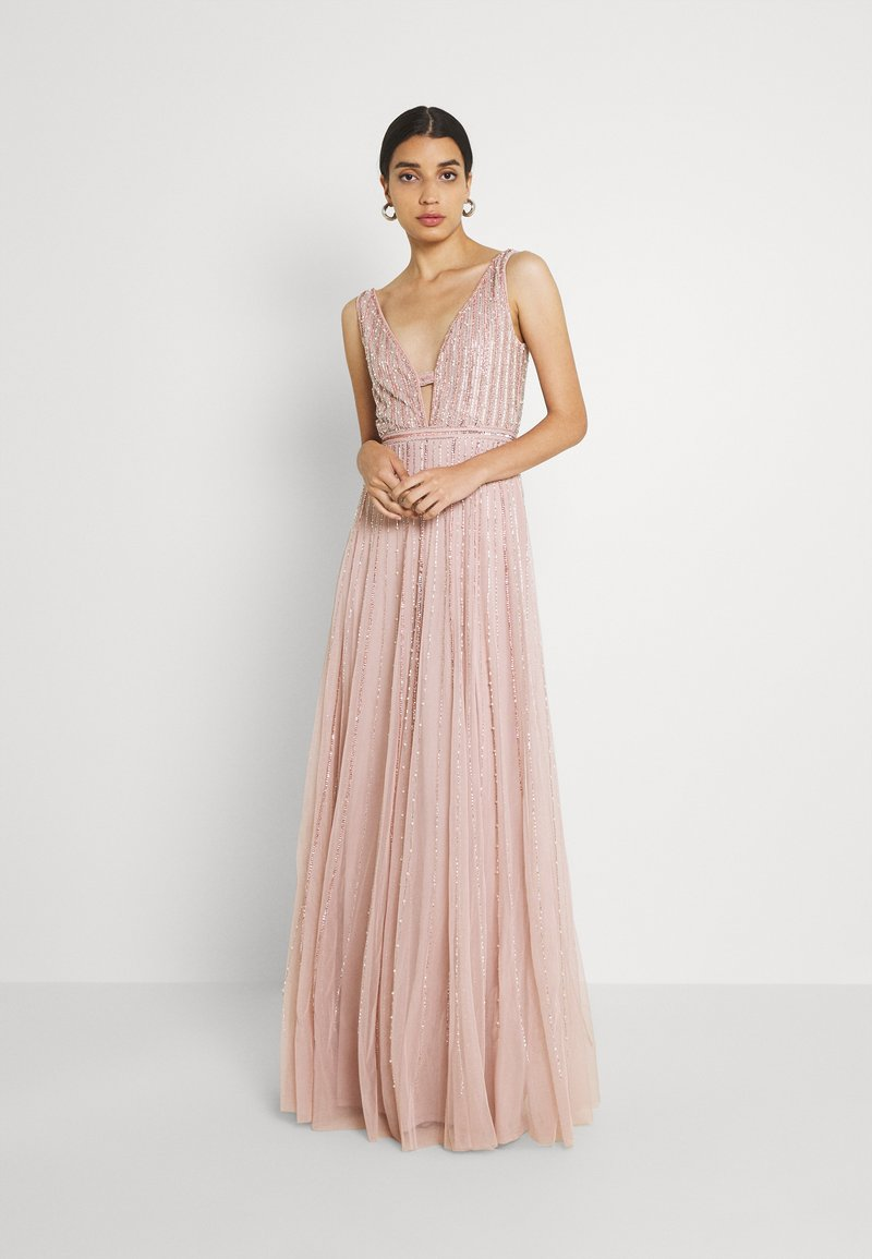 Lace & Beads - MALAYSIA - Occasion wear - nude