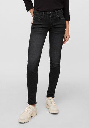 Jeans Skinny Fit - deep black stretch wash
