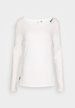 FLORAH LONG - Long sleeved top - white uni