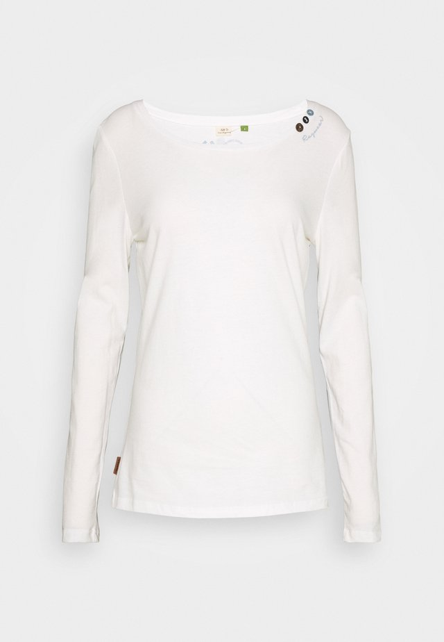 FLORAH LONG - T-shirt à manches longues - white uni