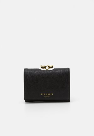 ALYESHA TEARDROP CRYSTAL MINI BOBBLE PURSE - Lommebok - black