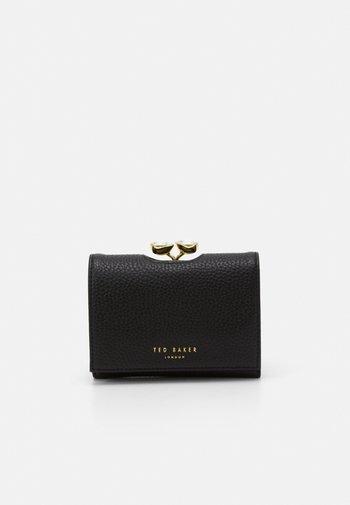 ALYESHA TEARDROP CRYSTAL MINI BOBBLE PURSE - Wallet - black