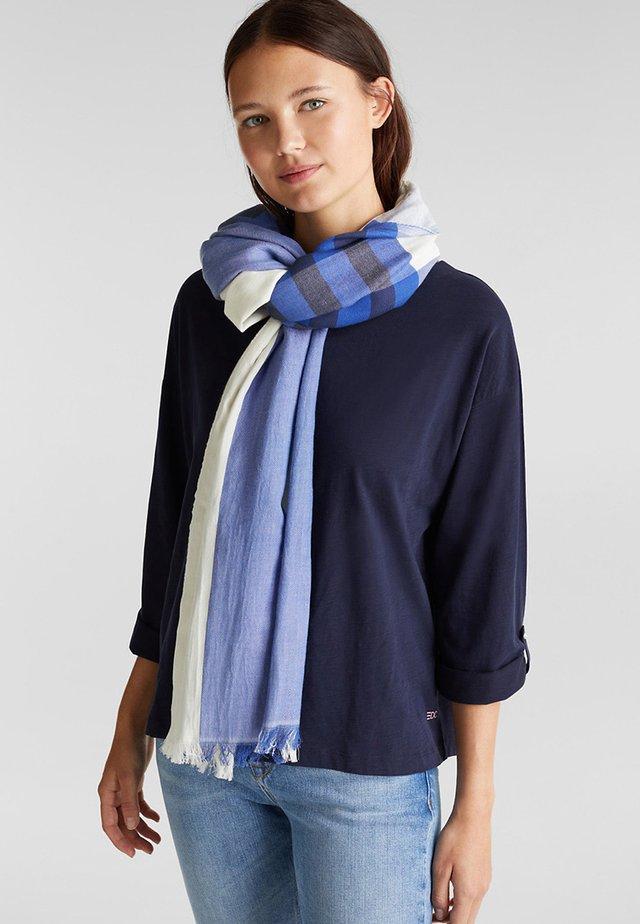 MIT STREIFEN - Sjaal - bright blue