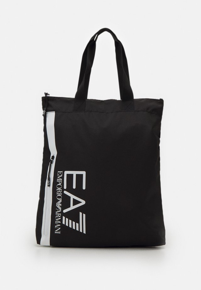 UNISEX - Tote bag - black/white