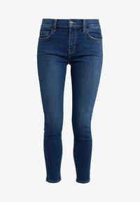 Current/Elliott - THE STILETTO - Jeans Skinny Fit - dark blue denim - 3