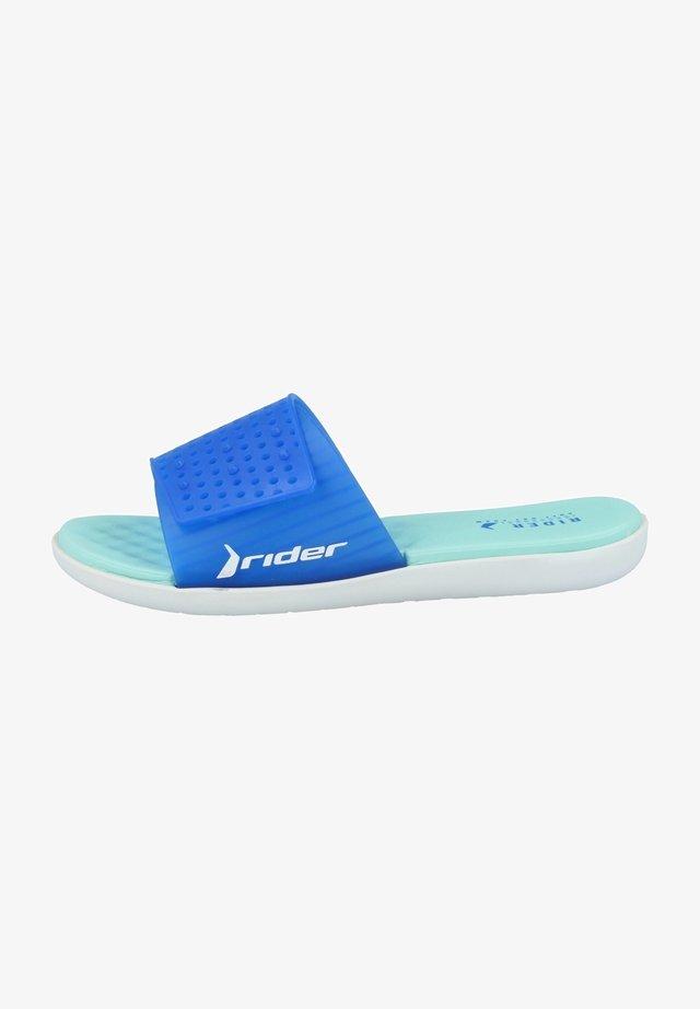 Sandaler - white-blue-green