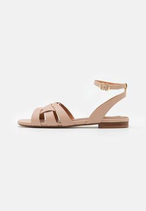 Sandaalit nilkkaremmillä - alfa/peony
