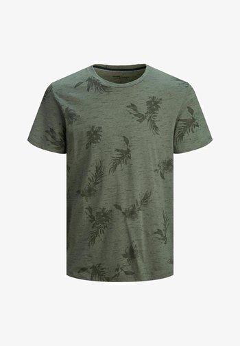 BOTANIK - T-shirt med print - sedona sage