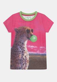 Lemon Beret - TEEN GIRLS - Print T-shirt - azalea pink - 0