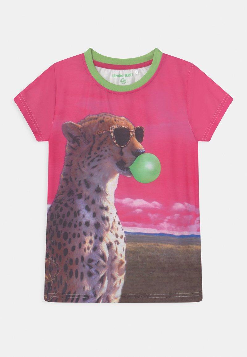 Lemon Beret - TEEN GIRLS - Print T-shirt - azalea pink